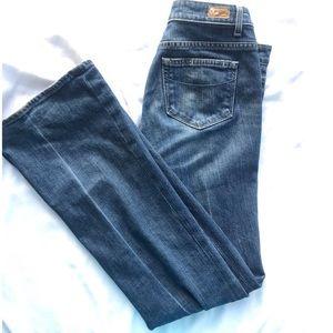 Paige Denim bootleg jeans in Rising Glen size 29